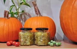 Marynowane zielone pomidorki