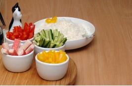 Podstawa: ryż do sushi