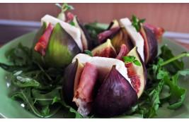 Figi podpiekane z serem i szynką